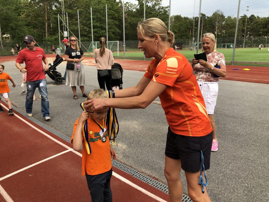 Friidrottsskolan vid Hammarbyhöjdens IP